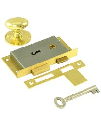 Cabinet RH Door Latch Lock 3 1/2""