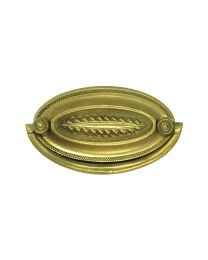 """Oval Plate Handle 2 3/4"""" Bore"""