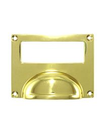 Bin Pull Card Frame
