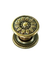 Sunflower Knob 7/8""